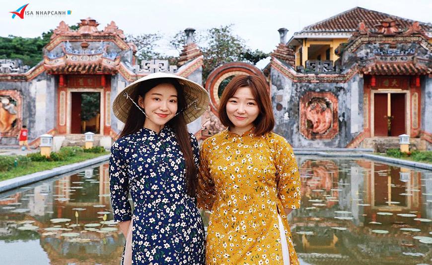 Dịch vụ xin visa Việt Nam online cho người Hàn Quốc