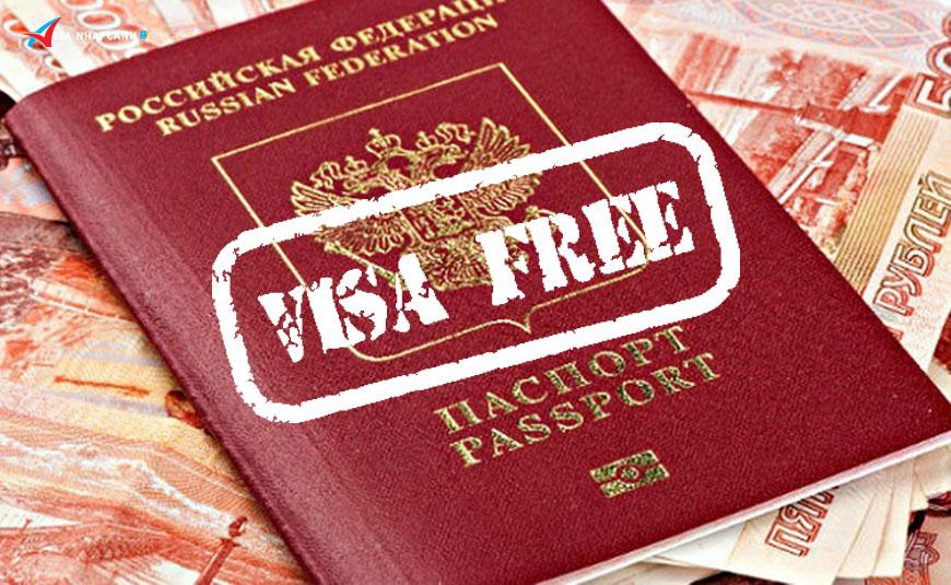 Có được miễn visa đối với người Việt Nam định cư tại Nga?