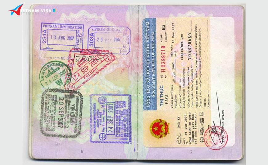 Dịch vụ xin visa Việt Nam cho người nước ngoài