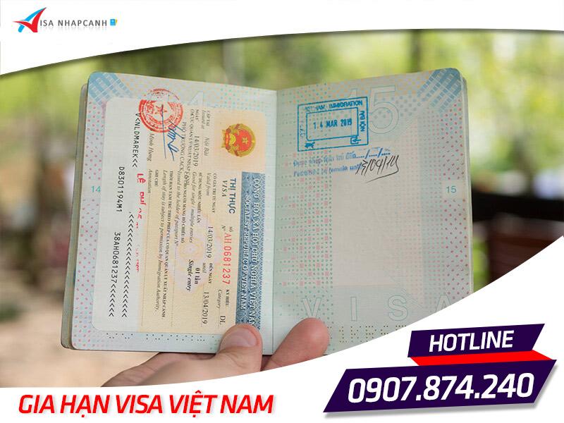 Dịch vụ xin gia hạn visa Việt Nam cho người nước ngoài 1