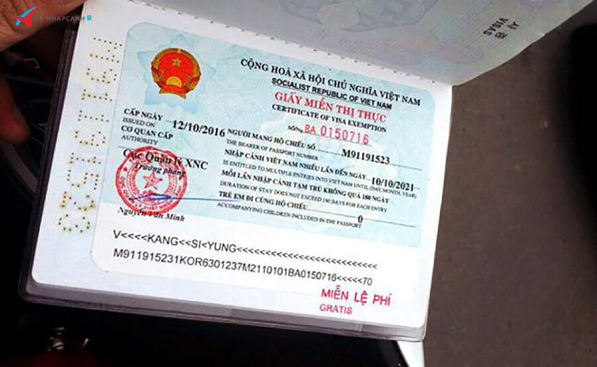 Bạn biết những gì về giấy miễn Visa Việt Nam dành cho người nước ngoài? 2