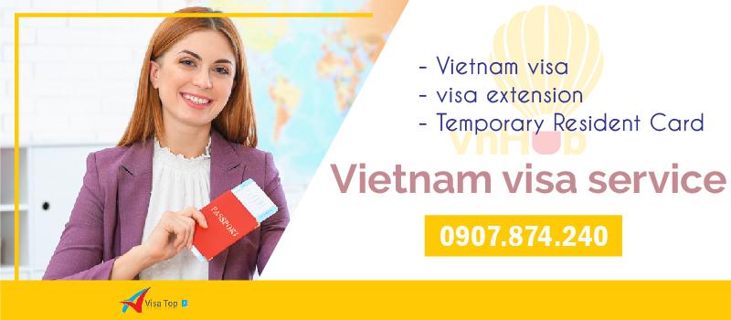 Dịch vụ visa cho người Anh tại Việt Nam