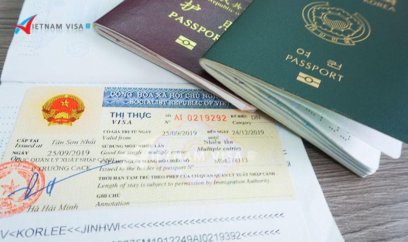Gia hạn visa cho người Áo tại Việt Nam