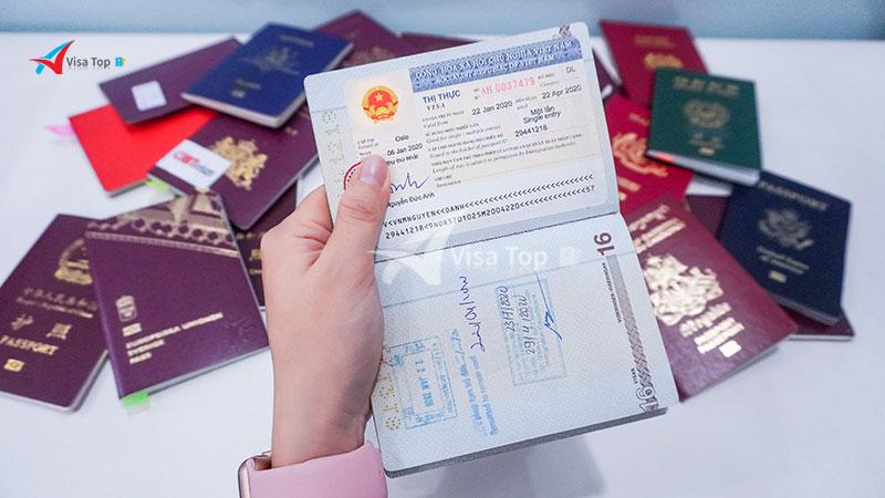 Gia hạn visa cho người nước ngoài tại Việt Nam