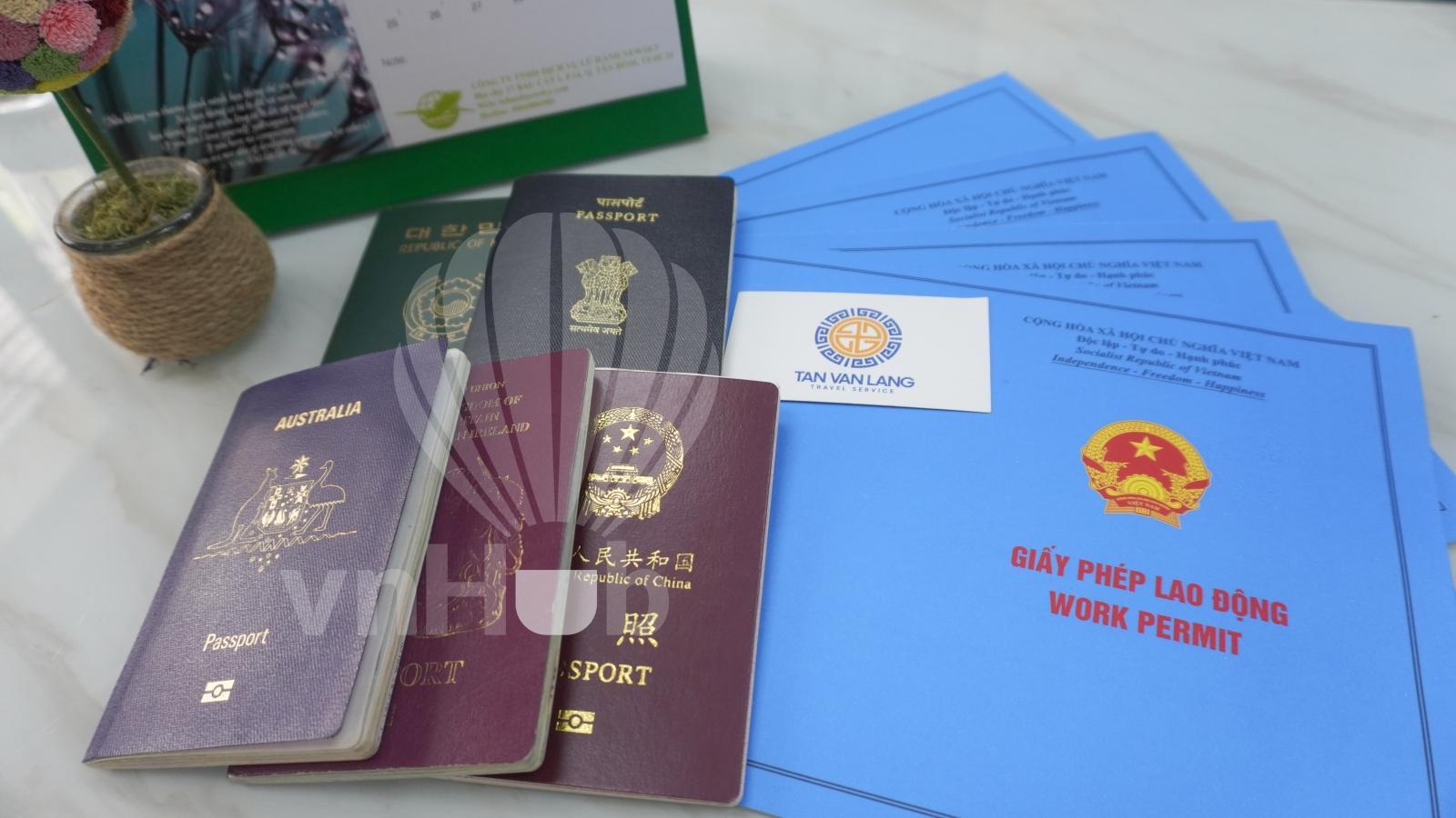 Dịch vụ xin giấy phép lao động cho người nước ngoài
