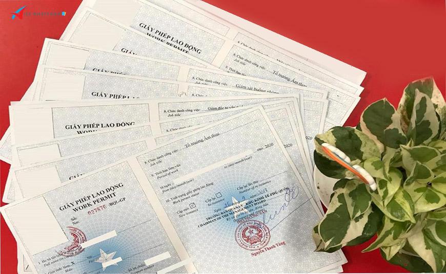 Dịch vụ xin giấy phép lao động cho người Hàn Quốc ở Việt Nam