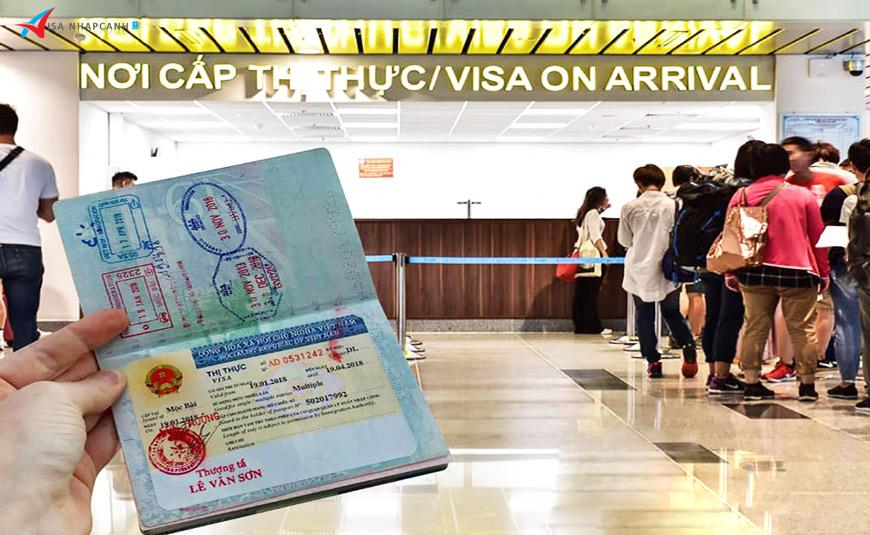 Visa Việt Nam cấp tại sân bay và visa cấp tại Đại sứ quán 2